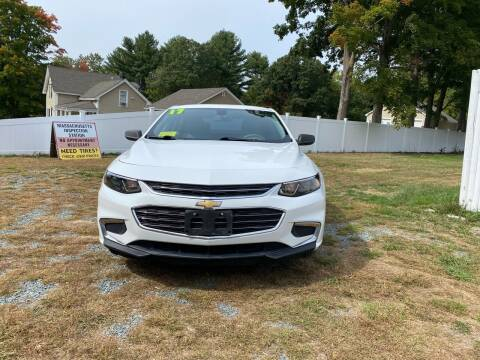2017 Chevrolet Malibu for sale at Milford Automall Sales and Service in Bellingham MA