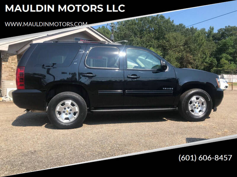 2013 Chevrolet Tahoe for sale at MAULDIN MOTORS LLC in Sumrall MS