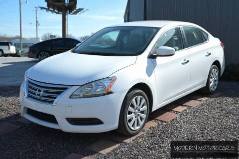 2015 Nissan Sentra for sale at Modern Motorcars in Nixa MO