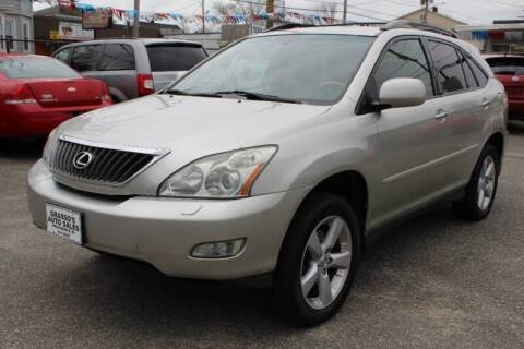 2008 Lexus RX 350 for sale at Grasso's Auto Sales in Providence RI