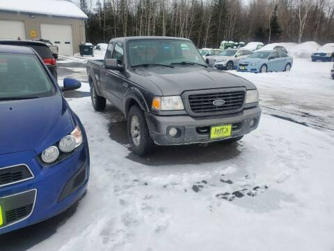 2008 Ford Ranger for sale at Jeff's Sales & Service in Presque Isle ME