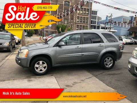 2006 Chevrolet Equinox for sale at Nick Jr's Auto Sales in Philadelphia PA