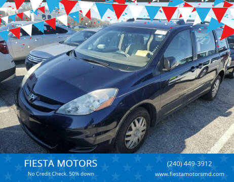 2007 Toyota Sienna for sale at FIESTA MOTORS in Hagerstown MD