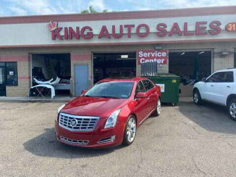 2013 Cadillac XTS for sale at KING AUTO SALES  II in Detroit MI