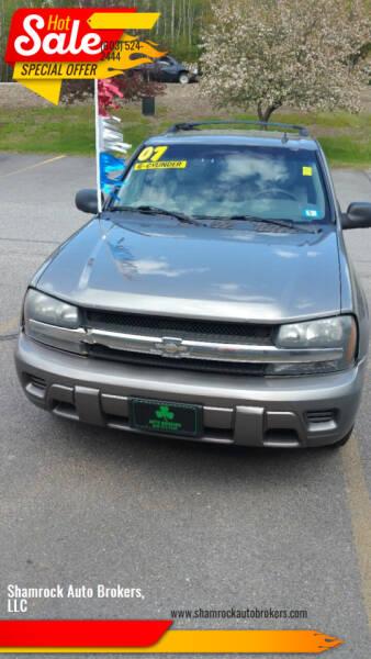 2007 Chevrolet TrailBlazer for sale at Shamrock Auto Brokers, LLC in Belmont NH