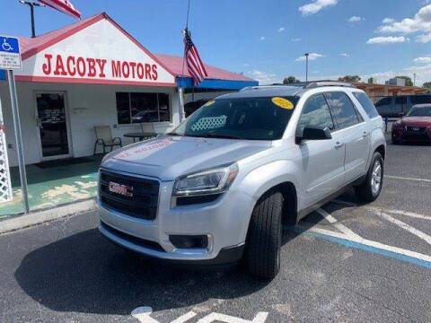 2015 GMC Acadia for sale at Jacoby Motors in Fort Myers FL
