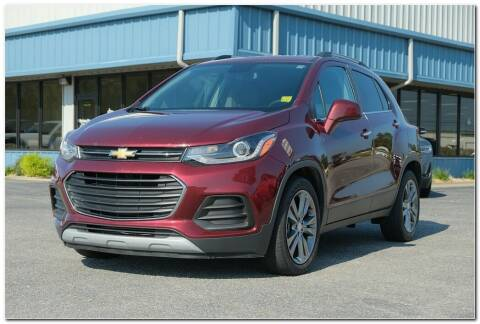 2017 Chevrolet Trax for sale at STRICKLAND AUTO GROUP INC in Ahoskie NC