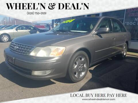 2003 Toyota Avalon for sale at Wheel'n & Deal'n in Lenoir NC