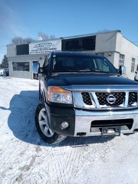 2008 Nissan Titan for sale at Rocket Cars Auto Sales LLC in Des Moines IA