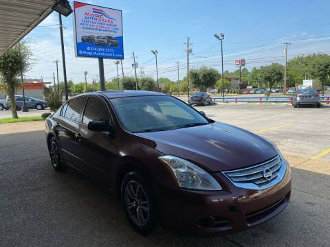 2012 Nissan Altima for sale at Magic Auto Sales - Cash Cars in Dallas TX
