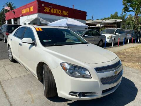 2011 Chevrolet Malibu for sale at 3K Auto in Escondido CA