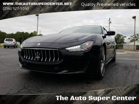 2019 Maserati Ghibli for sale at The Auto Super Center in Centre AL