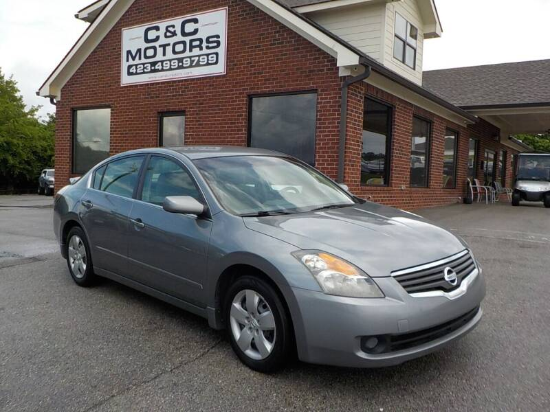 2007 Nissan Altima for sale at C & C MOTORS in Chattanooga TN