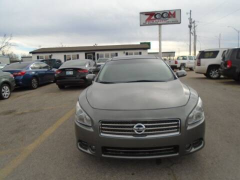 2014 Nissan Maxima for sale at Zoom Auto Sales in Oklahoma City OK
