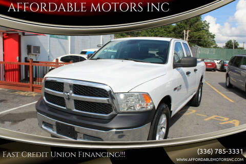 2015 RAM Ram Pickup 1500 for sale at AFFORDABLE MOTORS INC in Winston Salem NC