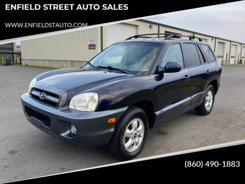 2005 Hyundai Santa Fe for sale at ENFIELD STREET AUTO SALES in Enfield CT