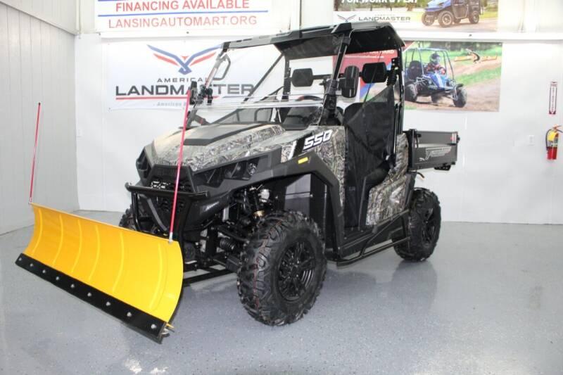 2021 Massimo T BOSS 550 F UTV for sale at Lansing Auto Mart in Lansing KS
