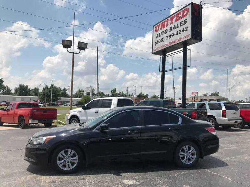 2012 Honda Accord for sale at United Auto Sales in Oklahoma City OK