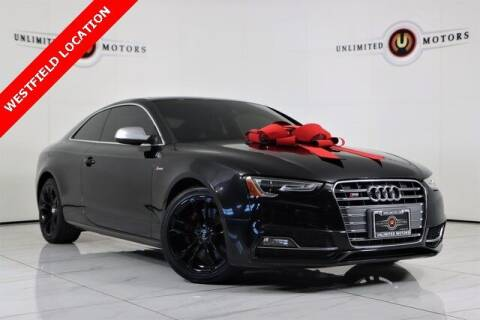 2016 Audi S5 for sale at INDY'S UNLIMITED MOTORS - UNLIMITED MOTORS in Westfield IN