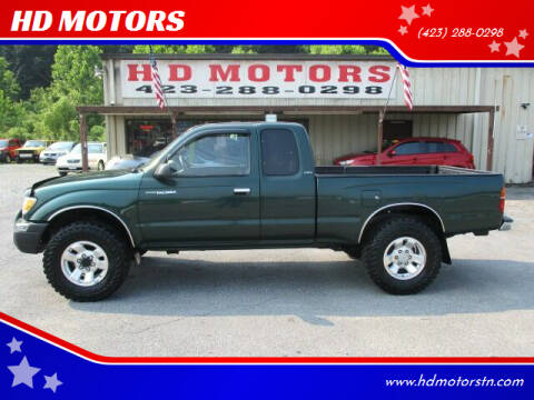 2000 Toyota Tacoma for sale at HD MOTORS in Kingsport TN