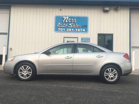 2005 Pontiac G6 for sale at NESS AUTO SALES in West Fargo ND