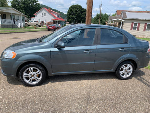 2010 Chevrolet Aveo for sale at MYERS PRE OWNED AUTOS & POWERSPORTS in Paden City WV