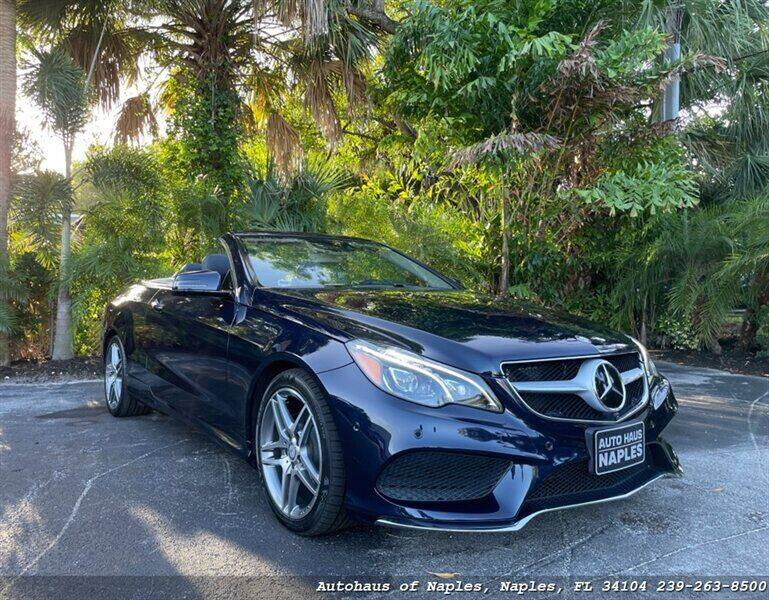 2016 Mercedes-Benz E-Class for sale at Autohaus of Naples in Naples FL