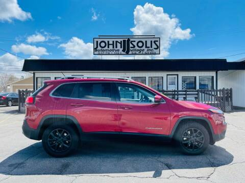 2015 Jeep Cherokee for sale at John Solis Automotive Village in Idaho Falls ID