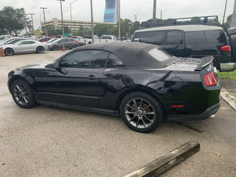 2011 Ford Mustang for sale at DAN'S DEALS ON WHEELS in Davie FL