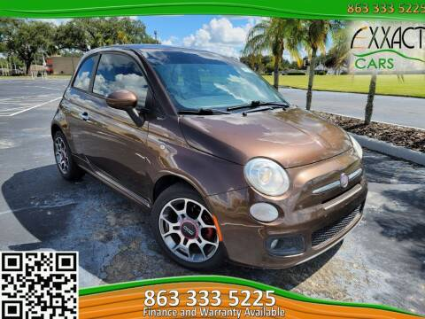 2012 FIAT 500 for sale at Exxact Cars in Lakeland FL