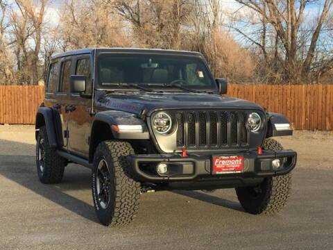 2021 Jeep Wrangler Unlimited for sale at Rocky Mountain Commercial Trucks in Casper WY