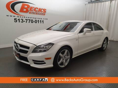 2012 Mercedes-Benz CLS for sale at Becks Auto Group in Mason OH