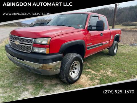 2005 Chevrolet Silverado 2500HD for sale at ABINGDON AUTOMART LLC in Abingdon VA