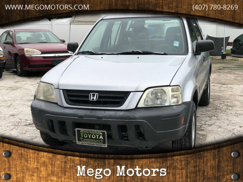2000 Honda CR-V for sale at Mego Motors in Orlando FL