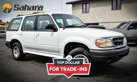 2000 Ford Explorer for sale at Sahara Pre-Owned Center in Phoenix AZ