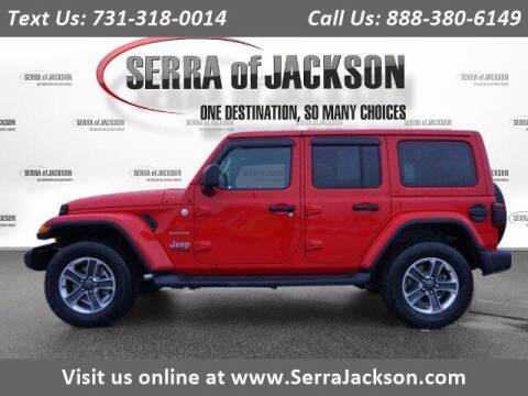 2018 Jeep Wrangler Unlimited for sale at Serra Of Jackson in Jackson TN