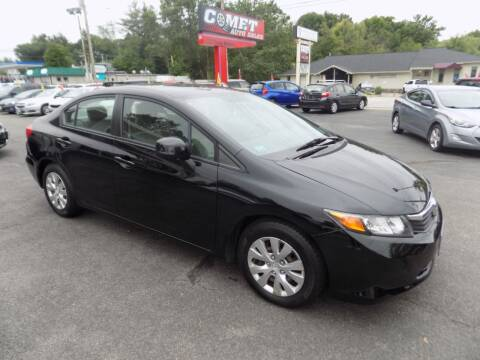 2012 Honda Civic for sale at Comet Auto Sales in Manchester NH