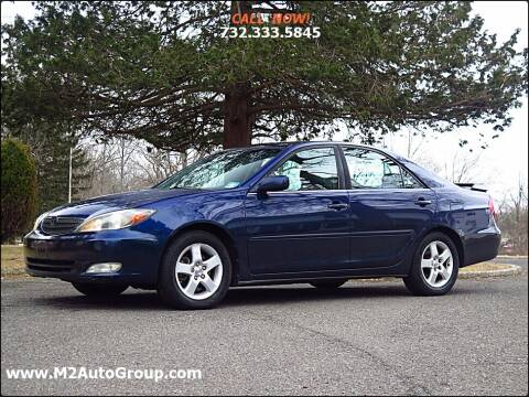 2002 Toyota Camry for sale at M2 Auto Group Llc. EAST BRUNSWICK in East Brunswick NJ