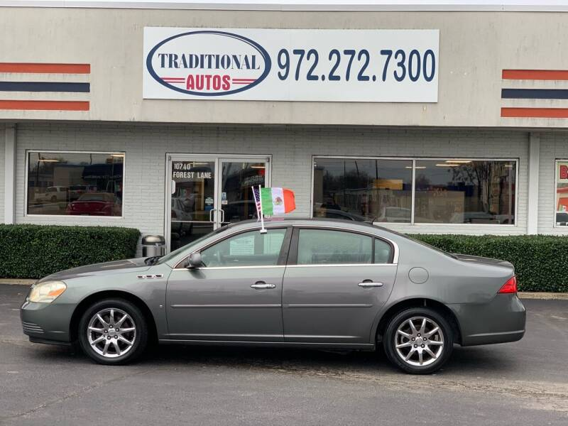2006 Buick Lucerne for sale at Traditional Autos in Dallas TX