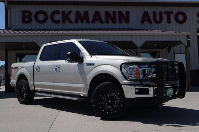2018 Ford F-150 for sale at Bockmann Auto Sales in Saint Paul NE