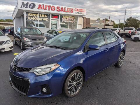 2016 Toyota Corolla for sale at Mo Auto Sales in Fairfield OH