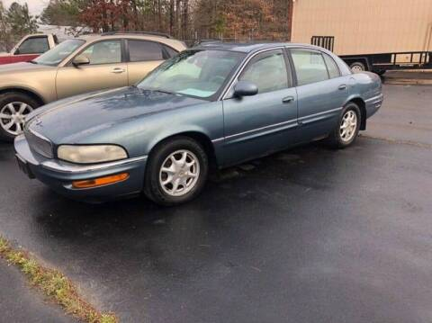 2001 Buick Park Avenue for sale at AUTO LANE INC in Henrico NC