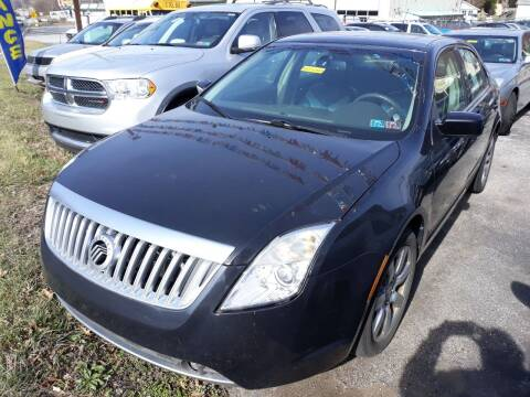 2011 Mercury Milan for sale at GALANTE AUTO SALES LLC in Aston PA
