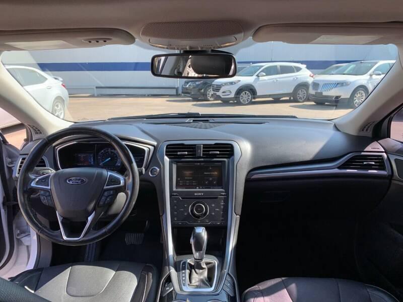 2013 Ford Fusion Energi Titanium 4dr Sedan - Houston TX