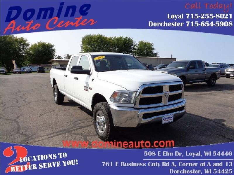 2015 RAM Ram Pickup 2500 for sale at Domine Auto Center in Loyal WI