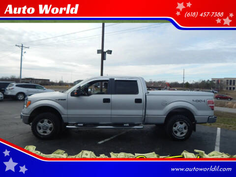 2010 Ford F-150 for sale at Auto World in Carbondale IL