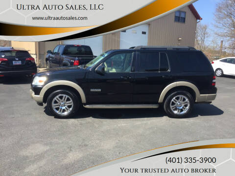 2008 Ford Explorer for sale at Ultra Auto Sales, LLC in Cumberland RI