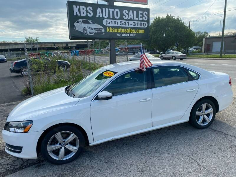 2012 Volkswagen Passat for sale at KBS Auto Sales in Cincinnati OH