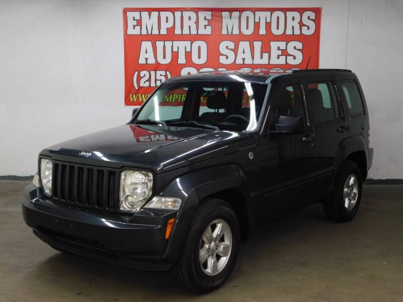 2011 Jeep Liberty for sale at EMPIRE MOTORS AUTO SALES in Philadelphia PA
