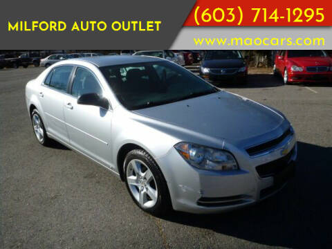 2009 Chevrolet Malibu for sale at Milford Auto Outlet in Milford NH